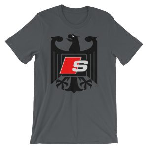 Audi S-Line t-Shirt - Logo/Emblem/Badge - German Eagle S3, S4, S5, S6, S7, S8