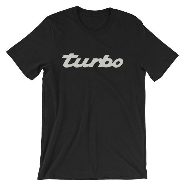 Porsche Turbo Emblem/Logo t-Shirt - 911, 993, 964, 996, 997, 944, 968, 918, 930