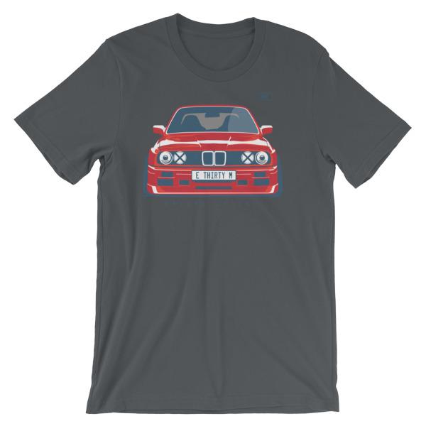 Stanced BMW E30 M3 t-Shirt