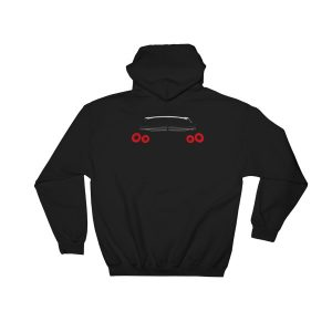 JDM Nissan Skyline GT-R R35 Rear Lights Hoodie