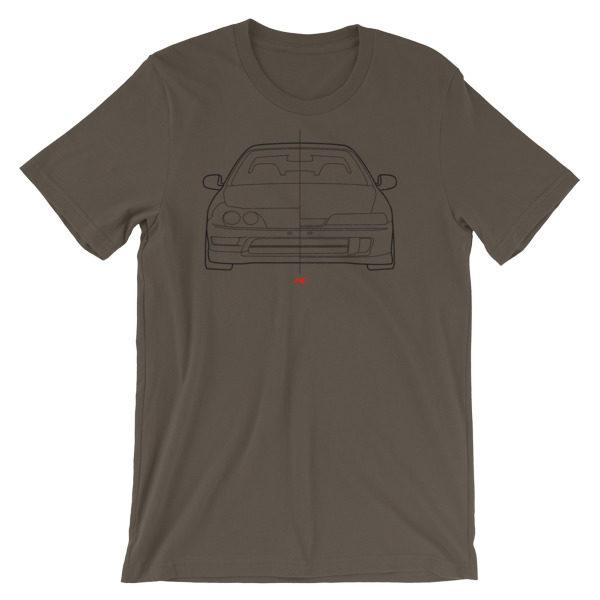 USDM vs JDM Honda Integra Type R t-Shirt