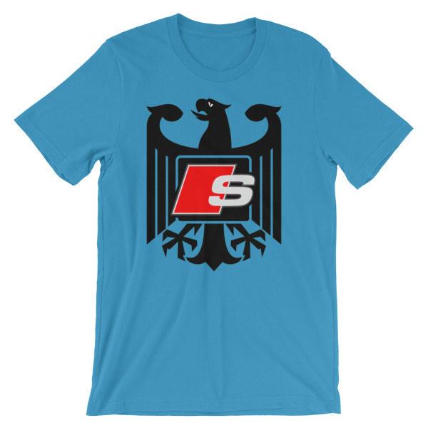 Audi S-Line t-Shirt - Logo/Emblem/Badge - German Eagle S3, S4, S5, S6, S7, S8