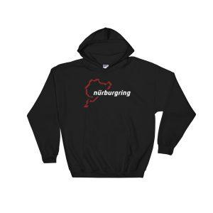 Race Track Outline - Nurburgring Hoodie