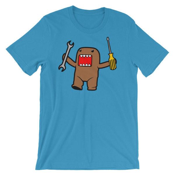 JDM Domo Kun t-Shirt Domo Monster Mechanic