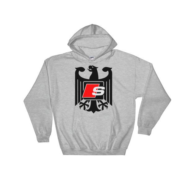 Audi S-Line Hoodie - Logo/Emblem/Badge - German Eagle S3, S4, S5, S6, S7, S8