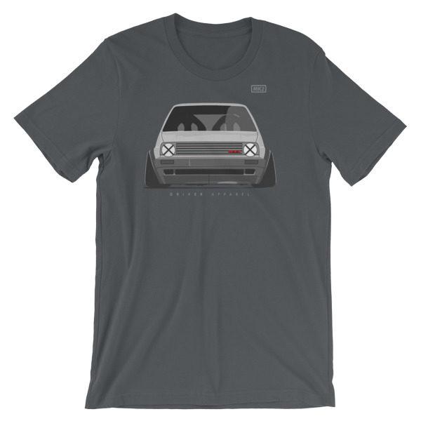 VW Golf GTi MK2 Stance t-Shirt