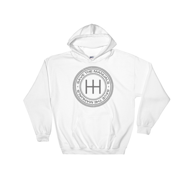 Save The Manuals Hoodie - I Love Manual Transmission