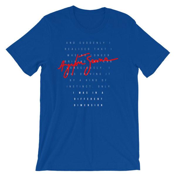 Ayrton Senna t-Shirt - Quote F1 Racing Legend