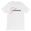 Race Track Outline - Nurburgring t-Shirt