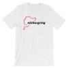 Race Track Outline - Nurburgring t-Shirt