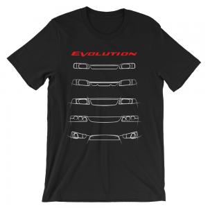 JDM Mitsubishi Evo Lancer Evolution t-Shirt