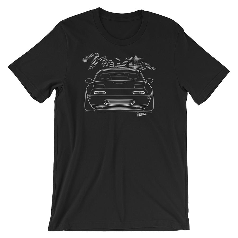Stanced JDM Mazda MX5 Miata t-Shirt