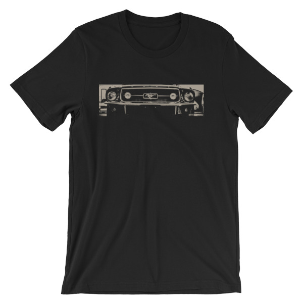 Vintage American Muscle Car - 1965 Ford Mustang t-Shirt