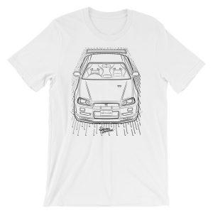 JDM Nissan Skyline GTR R34 t-Shirt