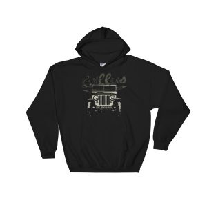 Vintage Jeep Willys CJ Hoodie - Life Behind Bars
