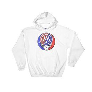VW Logo Greatful Dead Skull Stealie Hoodie