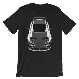 JDM Toyota Supra MKIV 2JZ, Black t-Shirt