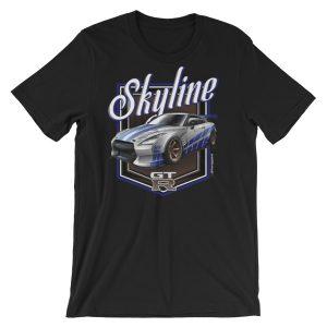 JDM Fast & Furious Stanced Nissan Skyline GTR R35 t-Shirt