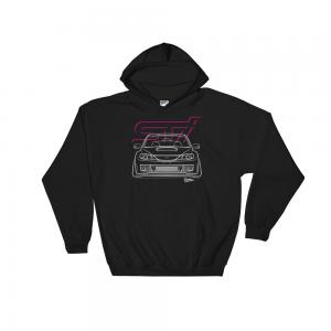 JDM Subaru Impreza WRX STi GR Stance Hoodie