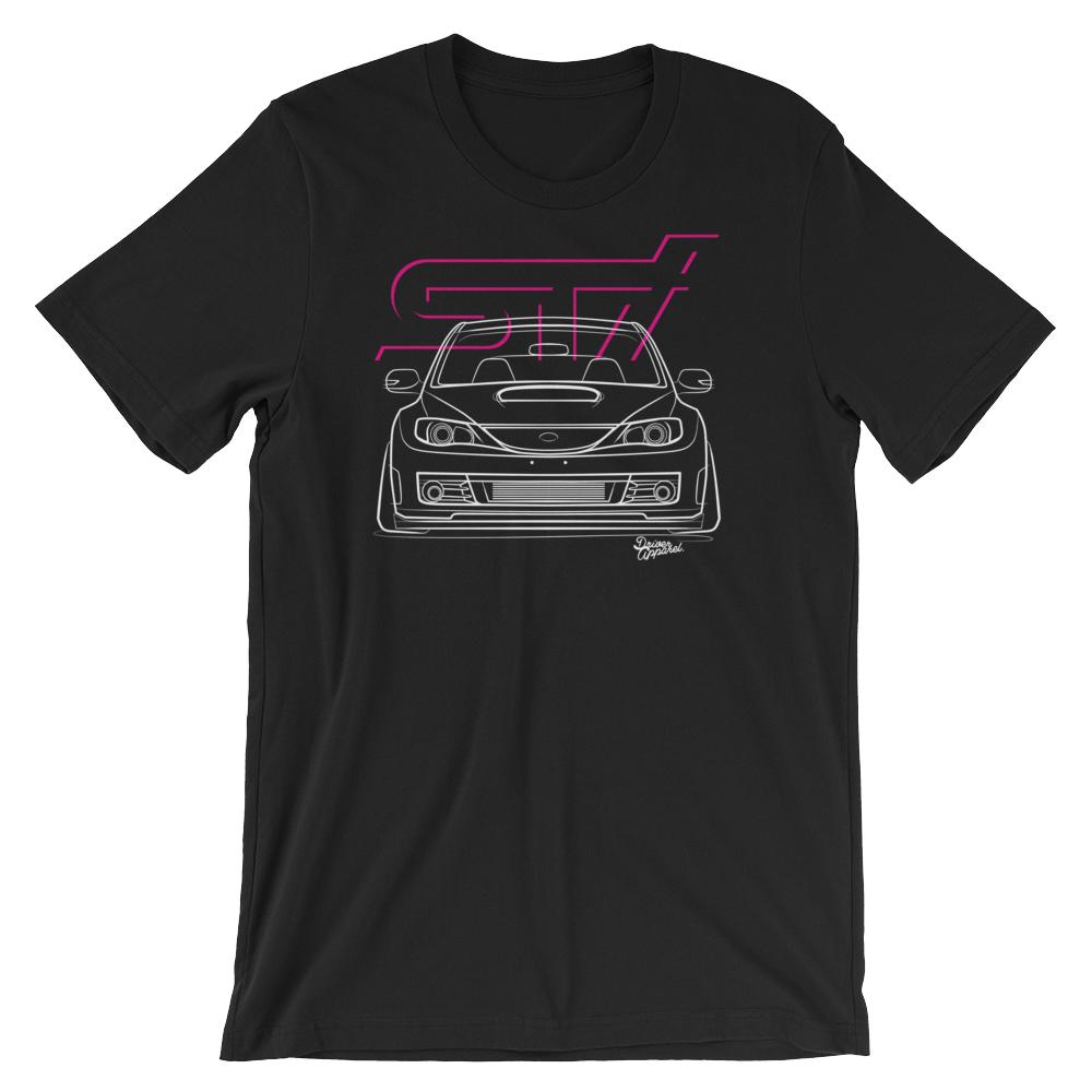 JDM Subaru Impreza WRX STi GR Stance t-Shirt