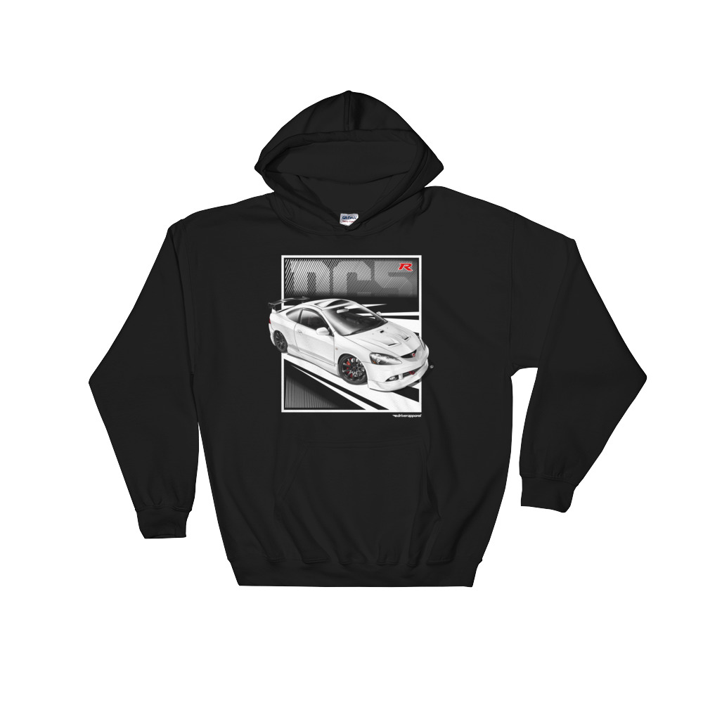 Integra DC Hoodie Driver Apparel - Acura clothing
