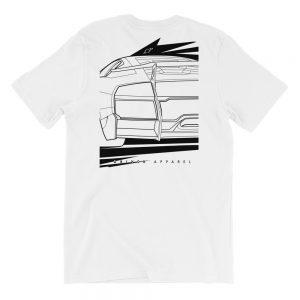 Lamborghini Murcielago LP640 t-Shirt (print on back) - White