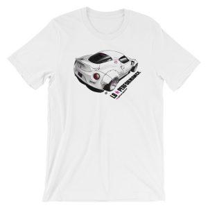 LB Performance LB Works Stanced Alfa 4C Widebody t-Shirt - White