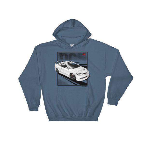 JDM Honda Integra DC5 / Acura RSX Stance Hoodie - Indigo Blue