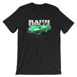 JDM Rauh Welt Porsche 993 t-Shirt - Green