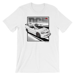 JDM Honda Integra DC5 / Acura RSX Stance t-Shirt - White