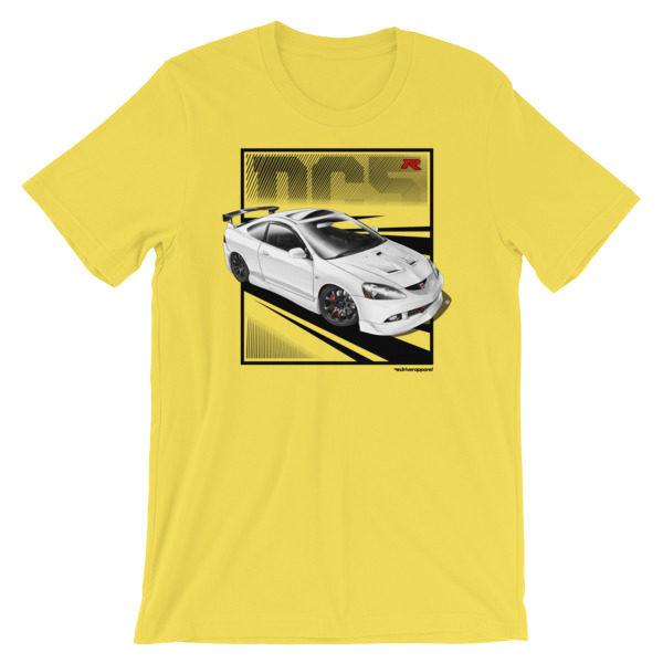 JDM Honda Integra DC5 / Acura RSX Stance t-Shirt - Yellow