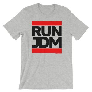 Run JDM t-Shirt - Athletic Heather