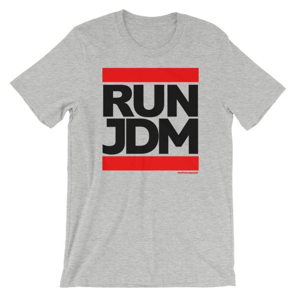 Run JDM t-Shirt - Athletic Heather