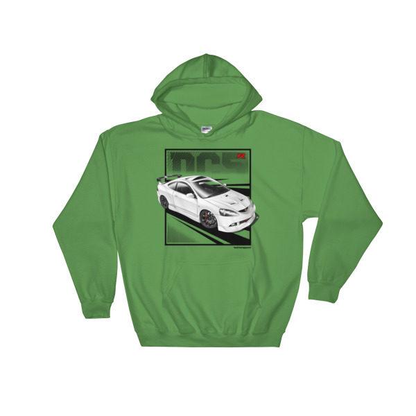 JDM Honda Integra DC5 / Acura RSX Stance Hoodie - Irish Green
