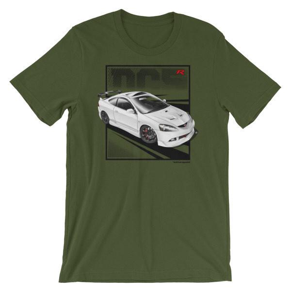 JDM Honda Integra DC5 / Acura RSX Stance t-Shirt - Olive