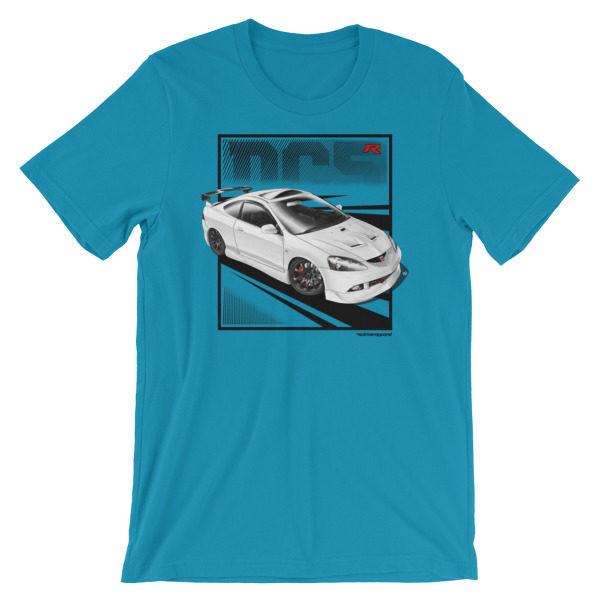 JDM Honda Integra DC5 / Acura RSX Stance t-Shirt - Ocean Blue