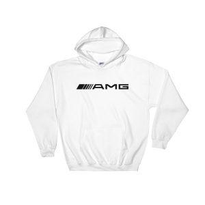 Mercedes AMG Logo Hoodie - White