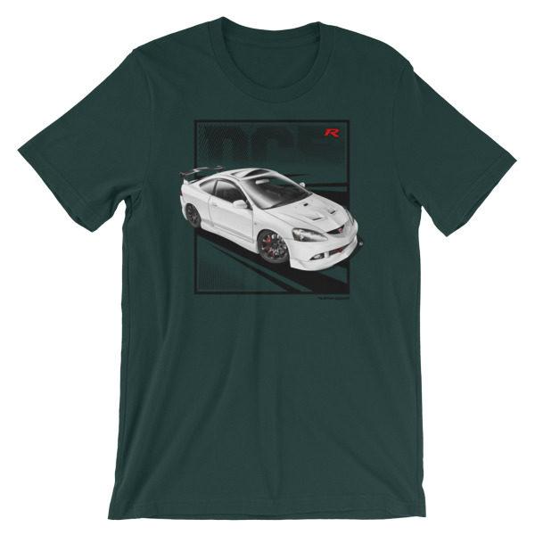 JDM Honda Integra DC5 / Acura RSX Stance t-Shirt - Forest