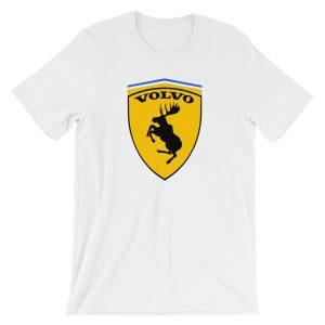 Volvo Prancing Moose Logo t-Shirt - White