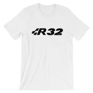 VW Golf GTi MK4 MK5 R32 Logo t-Shirt - White