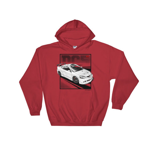 JDM Honda Integra DC5 / Acura RSX Stance Hoodie - Red