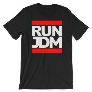 Run JDM t-Shirt - Black