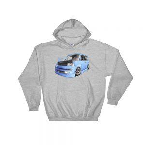 Stance Scion xB / JDM Toyota bB Hoodie - Sport Gray