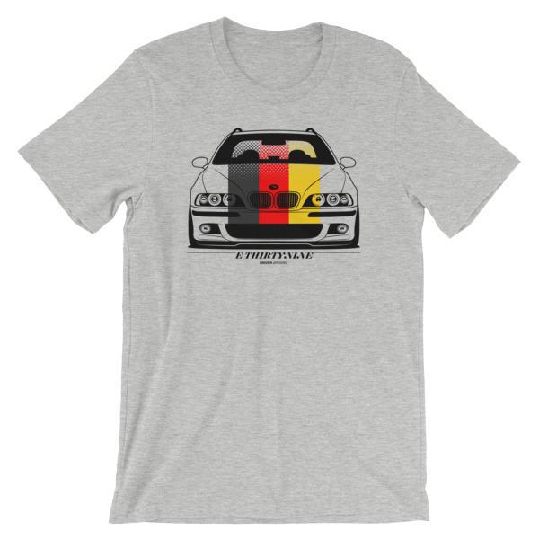 BMW E39 Stance Shirt - GDM- German Flag Euro
