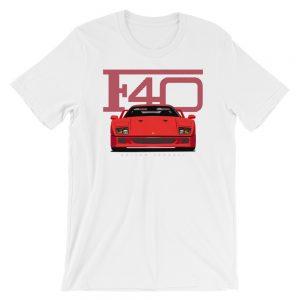 Red Vintage Ferrari F40 Shirt