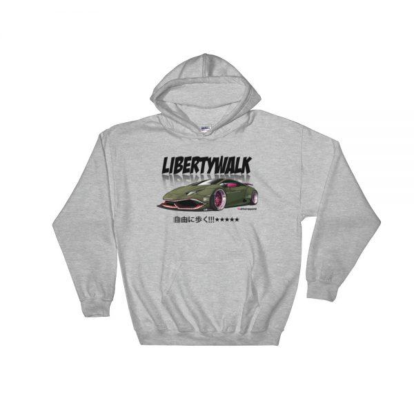 JDM Liberty Walk LB Performance LB Works Lamborghini Huracan Widebody Design Hoodie