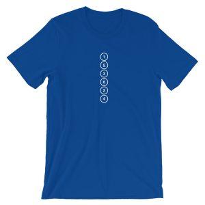 Straight Six - Firing Order 153624 t-Shirt 6 Cylinder - Supra, M3, M5, M6, E30, E36, E46, E90, E92, E39, E60, Skyline R34