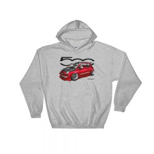 Stance Fiat 500 Hoodie - Abarth
