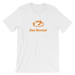 Check Engine t-Shirt - Das Normal - Car Enthusiast Shirt