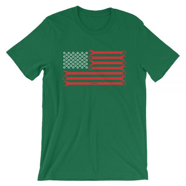 American Mechanic t-Shirt - Automotive Enthusiast Apparel